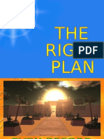 THE PLAN - FOR THE PEOPLE - THE GREATER GOOD
