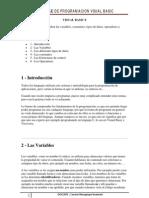 Programacion Visual Basic 2 Aqui Declarar Variables