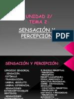 Diapositivas Sensacion y Percepcion