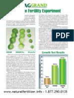 Aggrand Fertilizer Comparison
