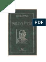01 - Os Pré-socraticos - Coleção Os Pensadores (1996)