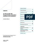 Siemens Plc Simatic - s7-400 and m7-400 Programmable Controllers Hardware and Installation - Installation Manual (316 Pages) Www.otomasyonegitimi.com