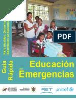 Educaion en Emergencias