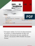 Almacenamiento on Line de Documentos