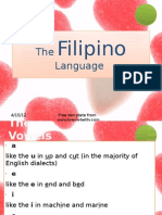 The Filipino Language