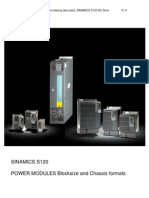 SINAMICS S120 POWER MODULES Blocksize and Chassis Formats Www.otomasyonegitimi.com