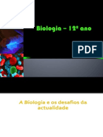 Biologia – 12º Ano (Apresentação 1)