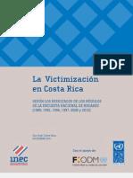 Estudio Sobre Victimización en Costa Rica INEC-PNUD 2011