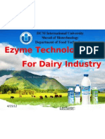 Enzyme Technology in Dairy