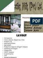 Presentation on Afroze Textiles