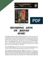 Roaring Lion & Preparations for War