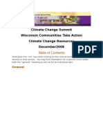 Climate Change Resource Document