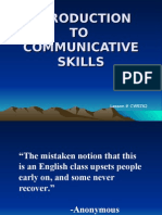 CW9Z62-Intro to Communicative Skills