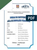 Normas de Convivencia Del Aula de Innovacion Pedagogica 2012