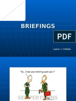 CW9Z66 Briefings