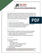 Process Engineering Syllabus