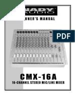CMX16AMan