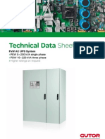 Technical Data Sheet PxW