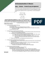 ATOTC Debate Assignment Sheet