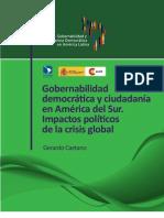 GCaetano (1) Gobernabilidad democrática y ciudadanía en América del Sur MAEC ;B