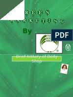 Green Marketing by Body Shop Final