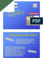 Caritas Peru Ponencia Maltrato Al Adultomayor