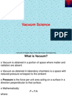 Section 3 Vacuum and Basic Science