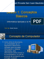 Sesion 1 - Introduccion a La Computacion