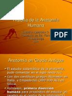 Historia de la Anatomía Humana (clase 3)
