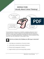 Module 5 Critical Thinking