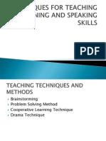 Techniques for Teaching l & s