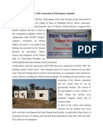 School and community building at Raup,Sonbhadra,UP