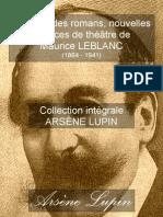 Résumé des romans, nouvelles et pièces de théâtre de Maurice Leblanc (1864-1941)
