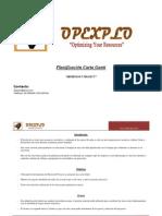 Carta Gantt Opexplo