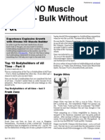 Current Bodybuilding News and Information