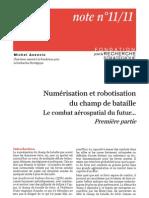 Numérisation et robotisation du champ de bataille (1)