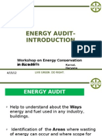 Energy Audit Basic Final