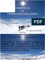 Training Evaluation Ppt