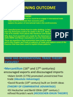 Trade Theories Chap 4