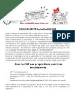 Negociations Salariales 2012 -2