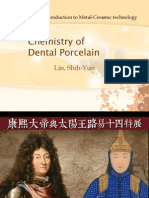 Chemistry of Dental Porcelain