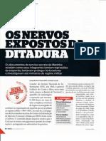 Os Nervos Expostos Da Ditadura