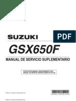 Manual de Taller GSX 650F K8