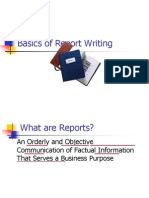 Report Writing Pp t