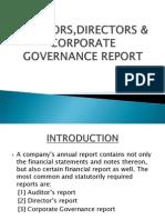 Auditors,Directors &