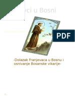 Franjevci u Bosni