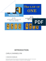 Law of One Study Guide - Bob Childers,PhD