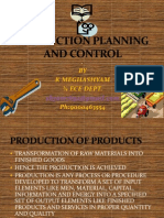 Production Planning and Control Ppt