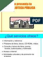 Biblioteca presentación