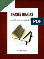 Frases Diarias - Un método simple para aplicar El Secreto